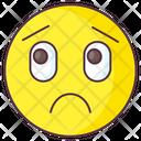 Puzzled Emoji Puzzled Expression Emotag Icon