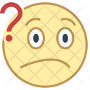 Puzzled face Icon