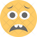 Sad Face Confused Icon