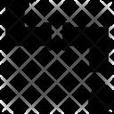 Pvc Elbow Fitting Icon