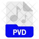 Pvd File Format Icon
