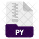 Py File Document Icon