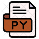 Py File Type File Format Icon