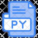 Py Document File Icon