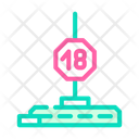 Pylon Striptease Color Icon