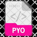 Pyo file Icon