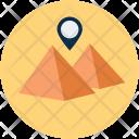 Pyramid Direction Location Icon