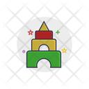 Pyramid Toy Child Icon