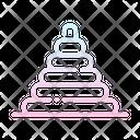Pyramid Game Lay Icon