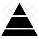 Pyramid Graph Triangle Icon