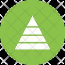 Pyramid Graph Icon