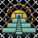 Pyramid World Signature Icon