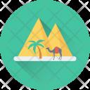 Pyramid Egypt Monument Icon