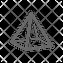 Pyramid Geometric Icon