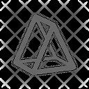 Triangle Pyramid Icon