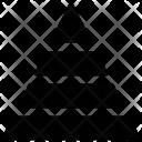 Pyramid Pyramidal Chart Icon