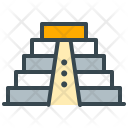 Mexican Pyramid Monument Icon