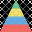 Pyramid Triangle Chart Icon