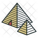 Egypt Pyramid Cheops Icon