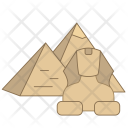 Pyramid Egypt Travel Icon
