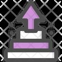 Pyramid Hierarchy Stats Icon