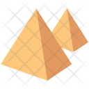 Pyramid Desert Sand Icon