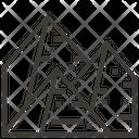 Artboard Pyramid Giza Icon