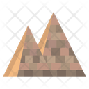 Pyramid Mountain Nature Icon