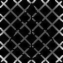 Pyramid Chart Pyramid Pyramid Graph Icon