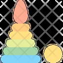 Pyramid Ball Baby Icon