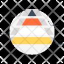 Pyramid Compare Analytics Icon