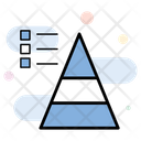Pyramid Triangle Link Building Icon