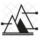 Pyramid Chart Data Chart Icon