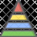 Pyramid Charts Triangle Icon