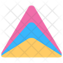 Pyramid Chart Graphical Representation Charting Application Icon