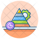 Pyramid Infographic Modern Charts Modern Infographic Icon