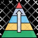 Career Level Pyramid Icon