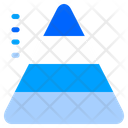 Pyramid Chart Pyramid Chart Icon