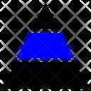 Pyramid Triangle Chart Icon Icon