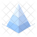 Pyramid Chart Data Statistics Icon