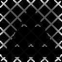 Pyramid Graph Pyramid Chart Pyramid Icon