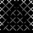 Chart Pyramid Report Icon