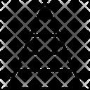 Pyramid Chart Chart Graph Icon