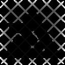 Pyramid Concept Icon