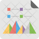 Pyramid Diagram Icon