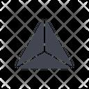 Pyramid Geometric Polygon Icon