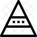 Pyramid Chart Graph Icon