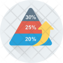 Pyramid Graph Icon