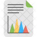 Vertical Pyramid Report Icon