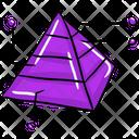 Pyramid Infographic Icon